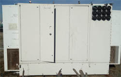 Used 5' x 9' x 7' Sun Engineering Cabinets