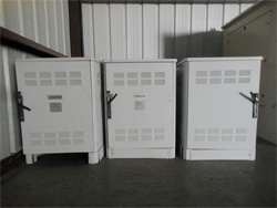 Used Small Kyocera Cabinets With Cooling Fans