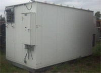 Used 7' x 13' Aluminum Shelters