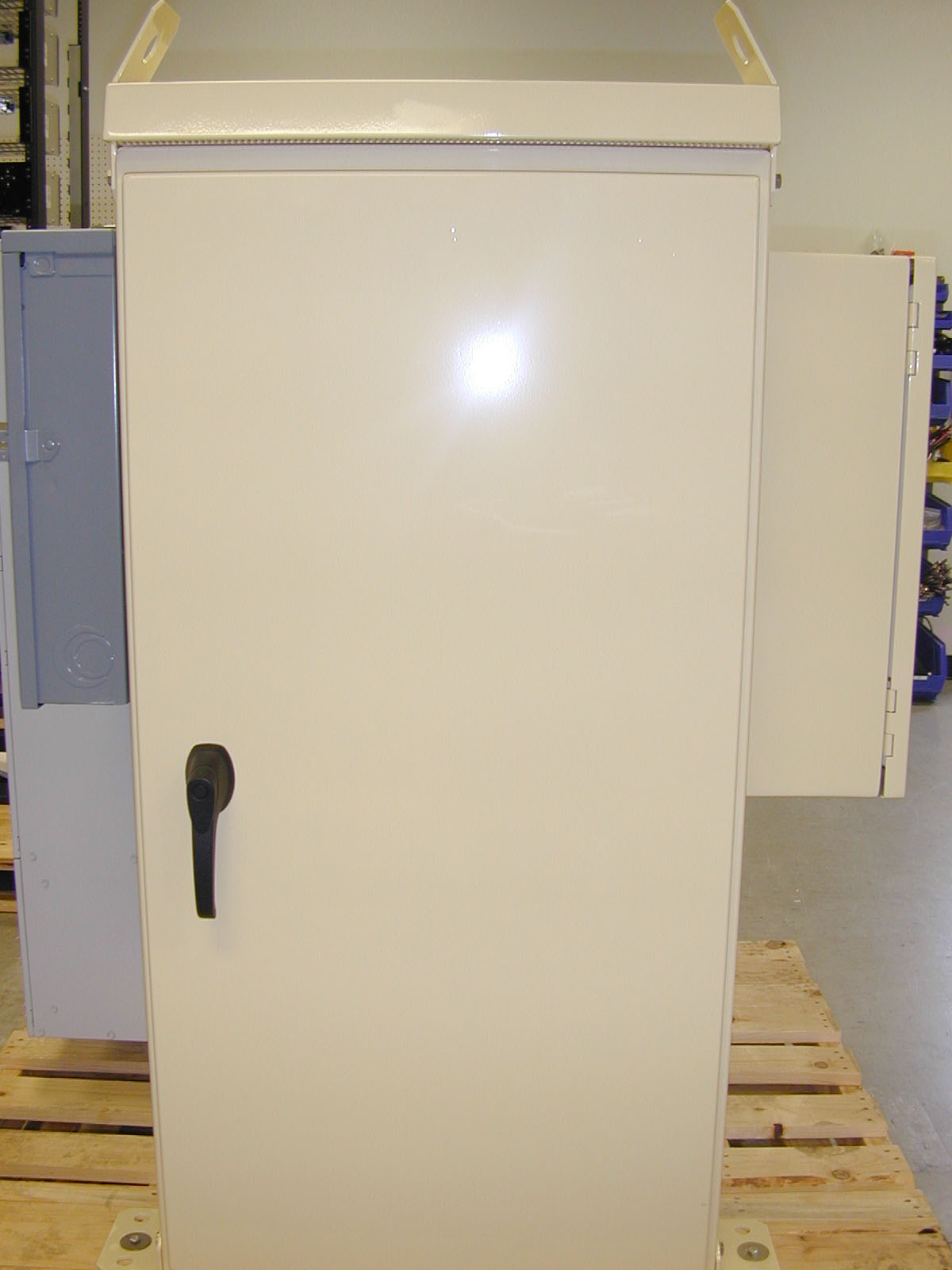 New Hoffman Cabinets With Mclean Ac Telecom Product Profiles