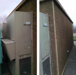 Large 12 X 26 Cellxion Concrete Shelter Usedshelter