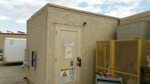 10 x 22 CBA Composite Shelter