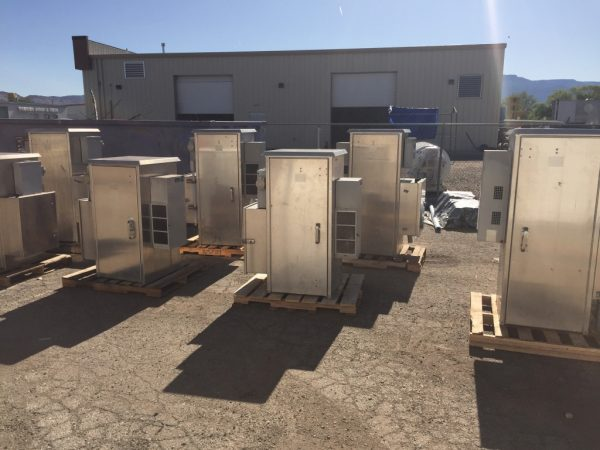 Used DDB Cabinets With AC