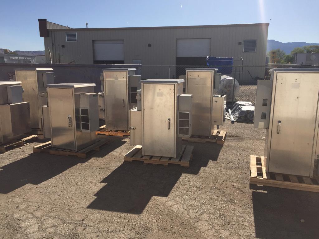 62u2033 Tall Used DDB Cabinets With AC