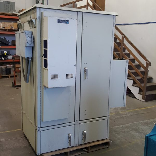 Large Used 2-Bay DDB Cabinet