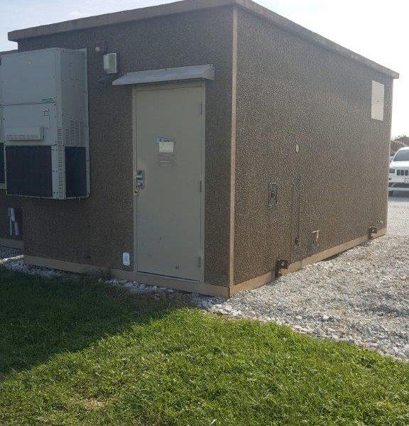 11' x 20' Andrews Concrete Shelter
