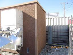 6' x 8' ROHN Concrete Shelter