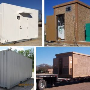 New Shelters.. Concrete, Container, and Metal Shelters.