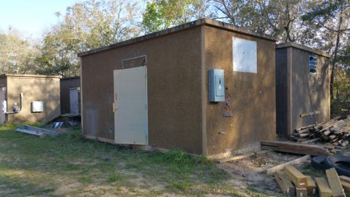 10' x 20' Andrew Concrete Shelter #5287