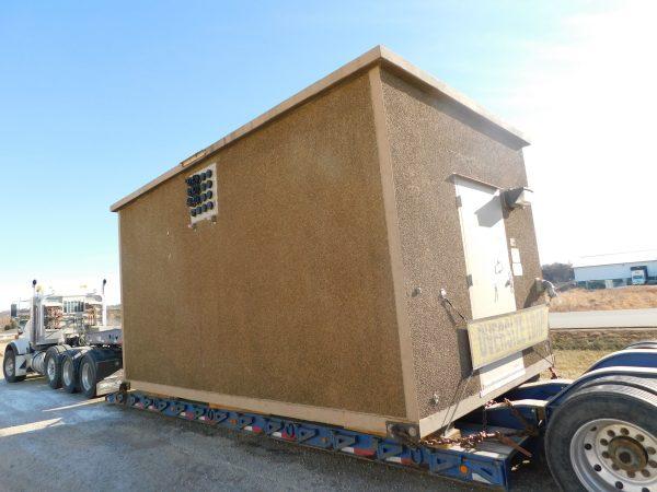 """11'3""""W x 19'4""""L Cellxion Concrete Shelter #5862"""