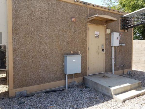 12 x 20' Fiberbond Concrete Shelter