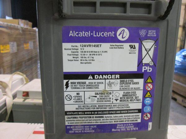 New Alcatel Lucent 145 AH Batteries
