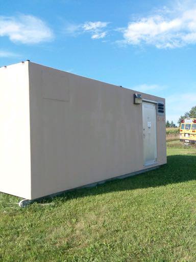 12' x 24' ROHN Fiberglass Shelter