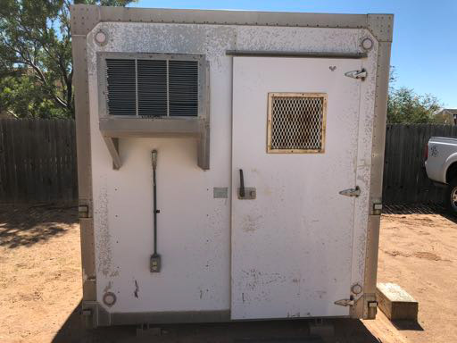 8' x 8' EKTO Metal Shelter