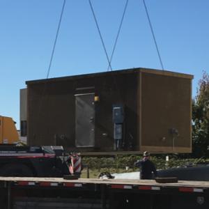 12' x 20' Fibrebond Concrete Shelter