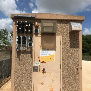 8' x 12' Fibrebond Concrete Shelter