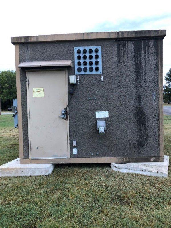 11.5' x 20' OldCastle Concrete Shelter