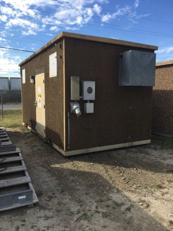 10' x 20' Andrew Concrete Shelter