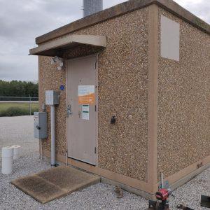 12 x 20 Fiberbond Concrete Shelter