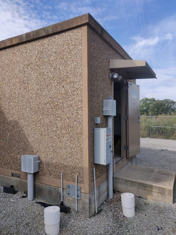 12' x 20' Fiberbond Concrete Shelter