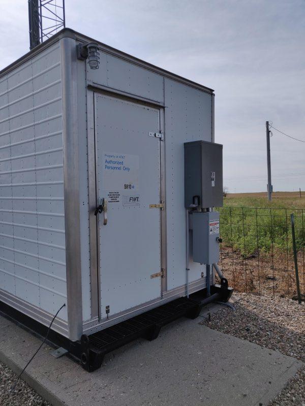 8' x 16' FWT Metal Shelter