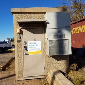 8' x 16' Fibrebond Concrete Shelter